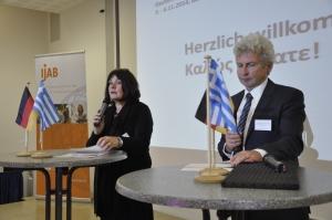 Dorothee Jäckering und Albert Klein-Reinhardt (beide BMFSFJ)