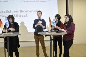 Interview mit drei Freiwilligen