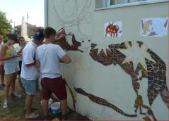 Projekt vom Bonner Verein für Jugendförderung und Filoxenia in Kryoneri.