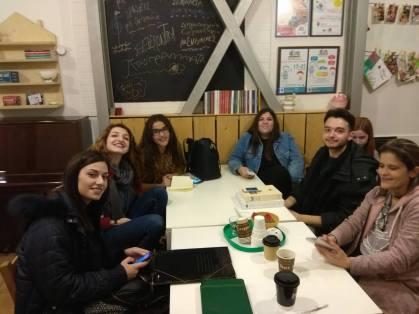 Jugendaustausch zwischen Thessaloniki und Berlin-Moabit.