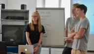 Die Schüler vom Filmprojekt des Benediktinergymnasiums Ettal.