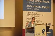 Dr. Margarita Tsomou, Ko-Kuratorin Diskussionsprogramm documenta 14.