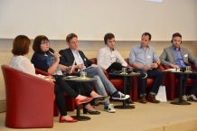 Das erste Dienstags-Panel zur Erinnerungsarbeit im Deutsch-Griechischen Jugendaustausch.
