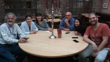 griechische Gästegruppe