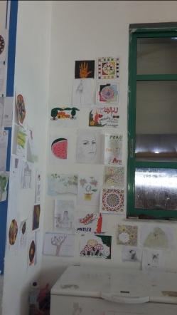 Die Besucher nutzen ihre Freizeit bei OHF gerne für sportliche oder künstlerische Aktivitäten. Inzwischen sind viele Wände von tollen Bildern behängt