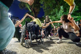 The 3D project-European Music Day at Varnava Square Athens